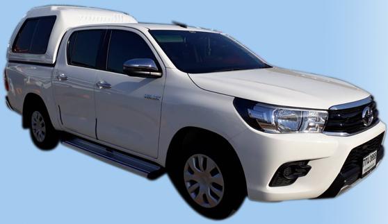 รถกระบะให้เช่า : รถกระบะ 4 ประตู Toyota Hilux Revo Z-Edition เกียร์ธรรมดา 6สปีด