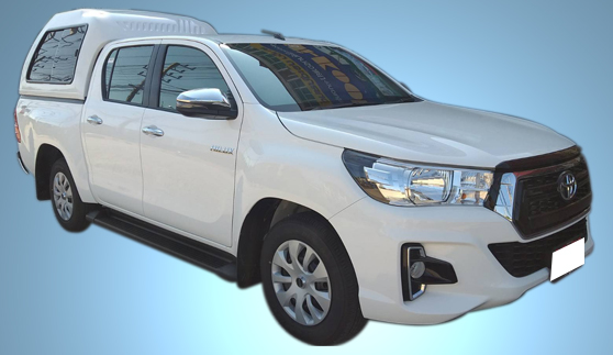 รถกระบะให้เช่า : รถกระบะ 4 ประตู Toyota Hilux Revo Z-Edition เกียร์อัตโมมัติ 6สปีด